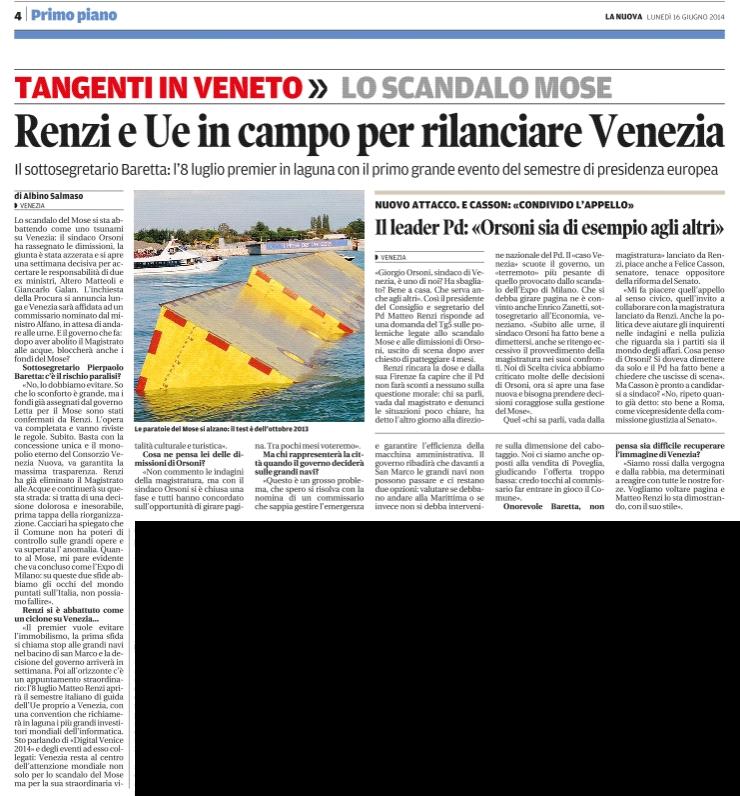 nuova Venezia 16.6.2014