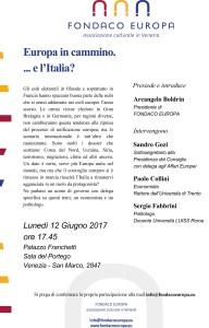 Microsoft Word - fondaco europa invito Europa in cammino..doc