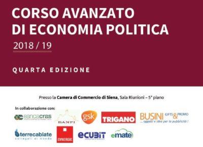 Locandina Corso avanzato di economia politica
